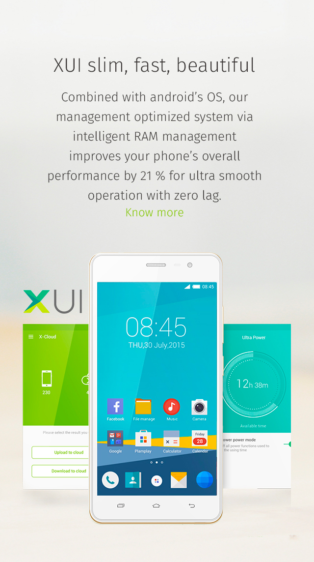 Claudia Berger - Webdesign - Infinix - smartphone 3