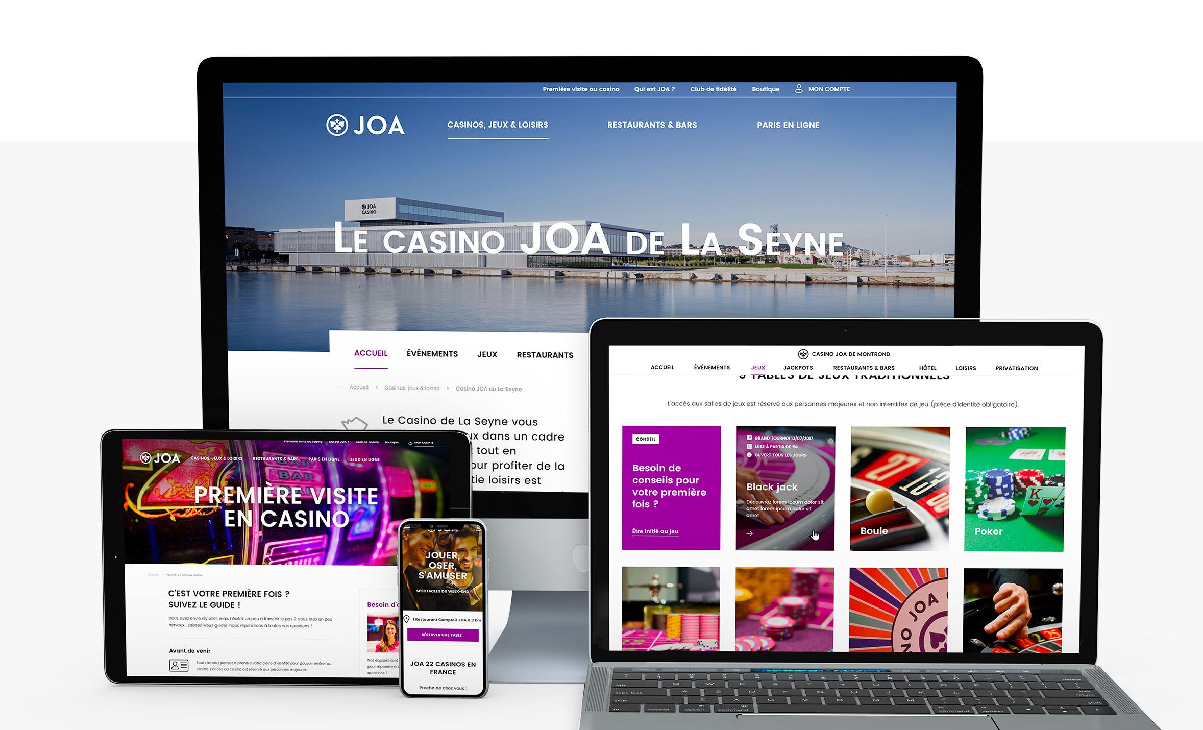 Claudia Berger - Webdesign responsive - JOA - 2