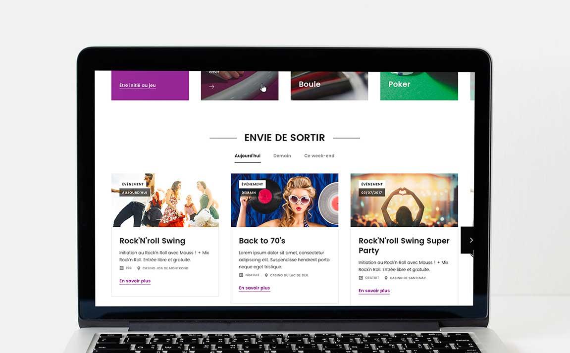 Claudia Berger - Webdesign responsive - JOA - Desktop