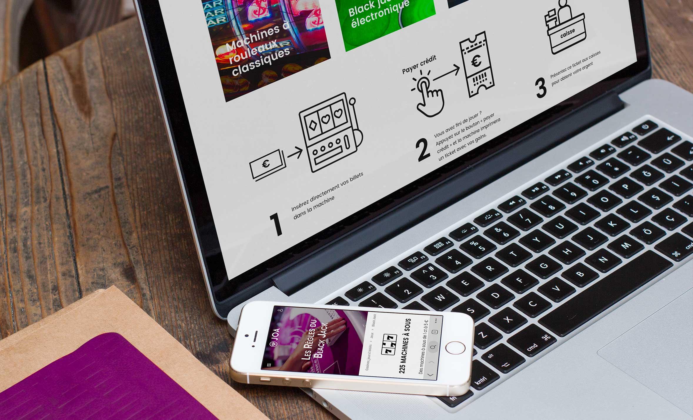 Claudia Berger - Webdesign responsive - JOA - mockup