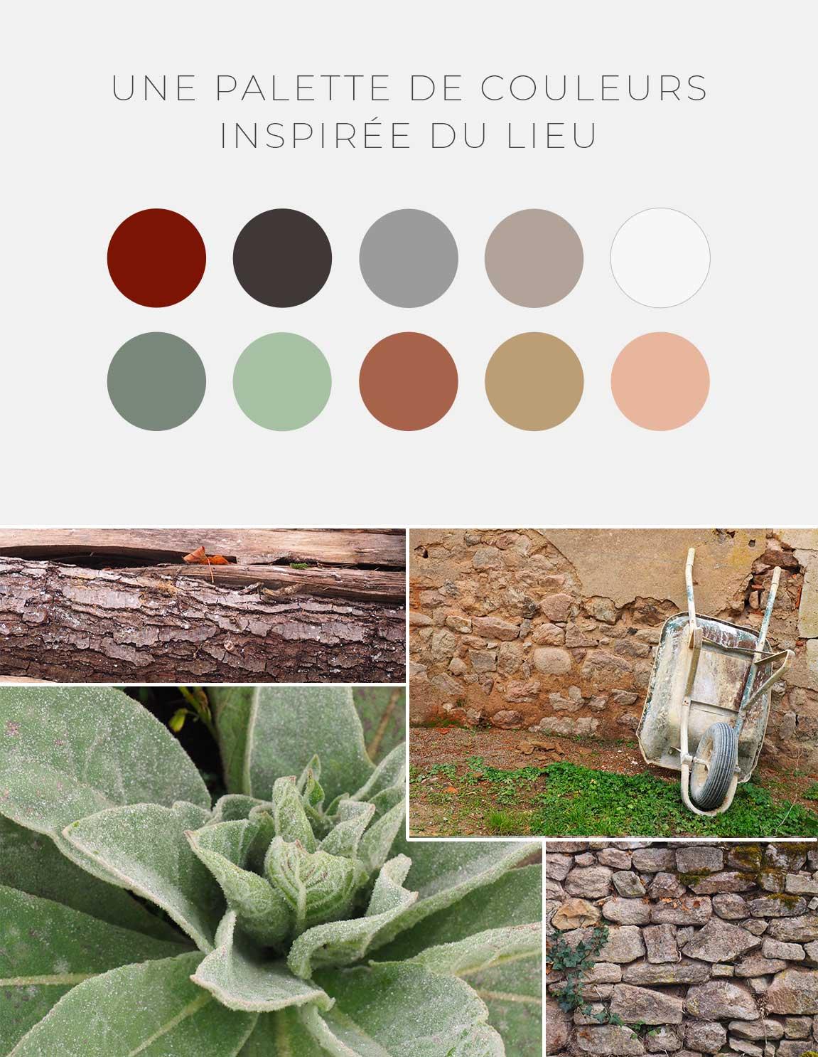 Claudia Berger - Branding - les Panats - couleurs charte graphique