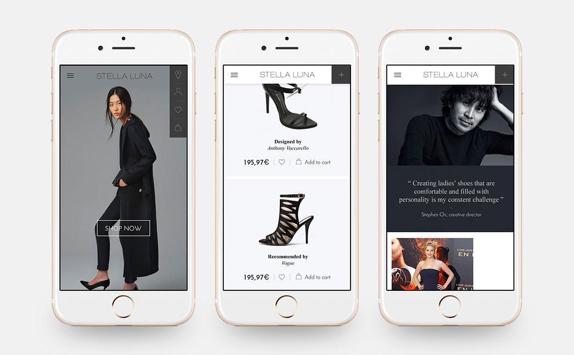Claudia Berger - Webdesign - Stella Luna - smartphone