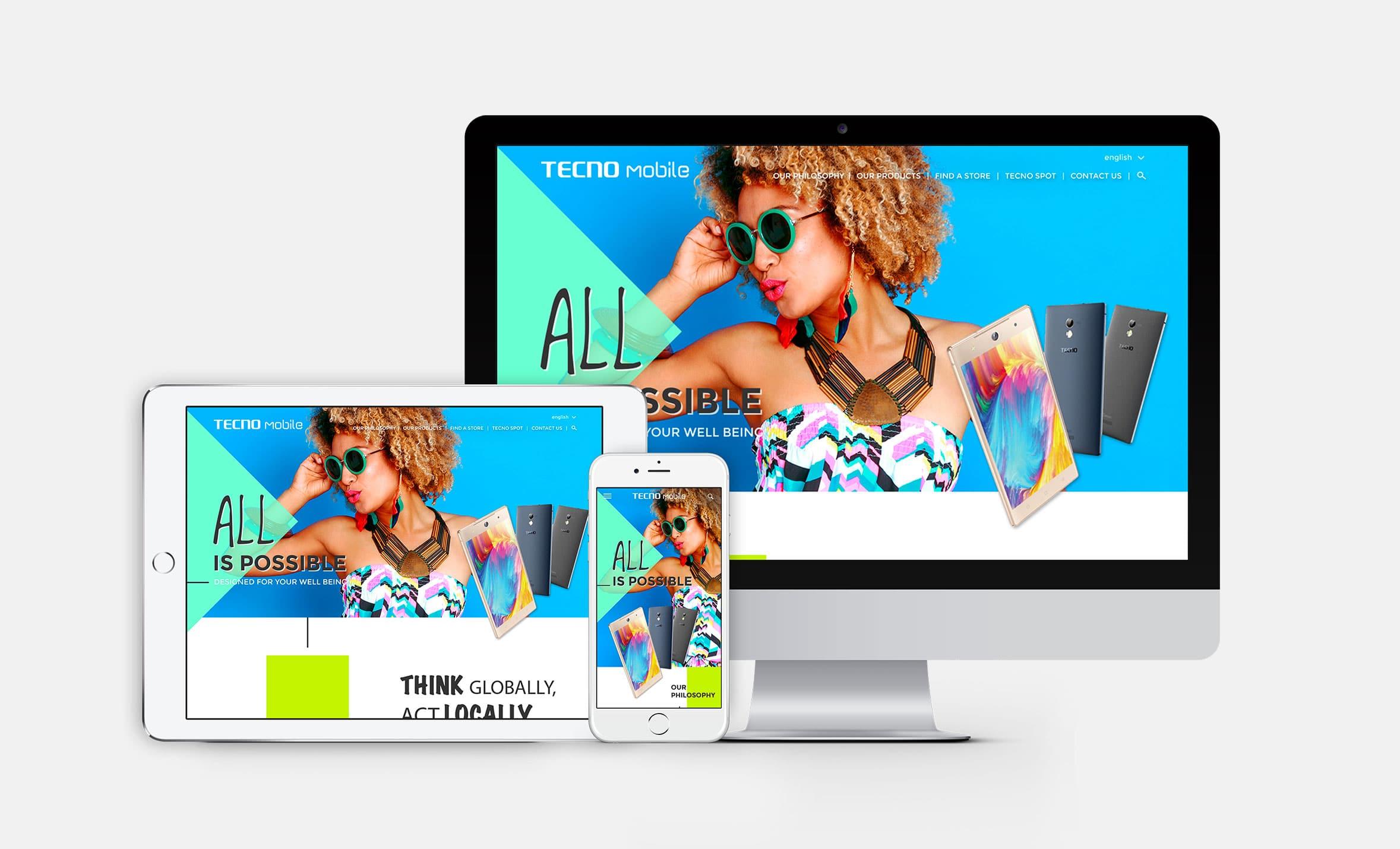 Claudia Berger - Webdesign - Tecno - responsive