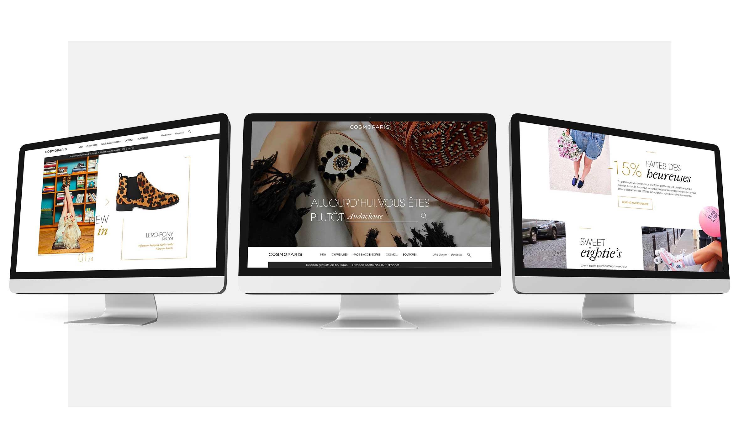 Claudia Berger Webdesign Cosmoparis