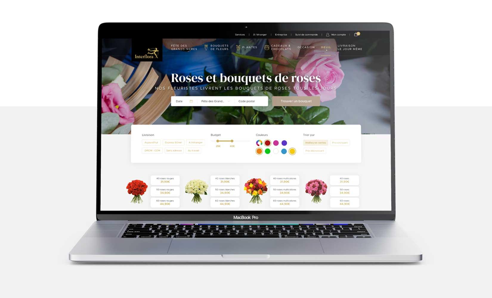 wed design liste interflora